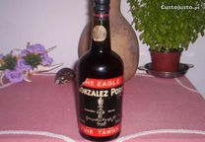 Garrafa vinho do porto rara