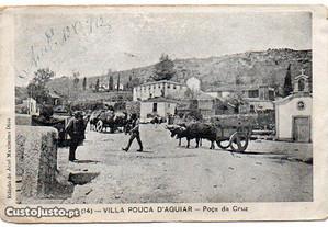 Vila Pouca de Aguiar - postal antigo
