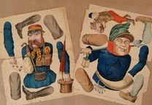 Marionetas para teatro juvenil