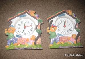 2 Relógios de Cabeceira/Quarto de Criança/Novos!