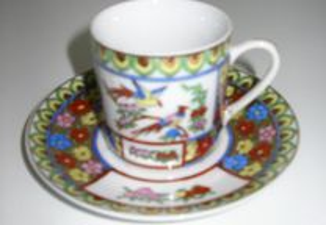 Chávena de Café, louça Chinesa