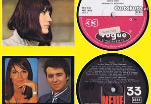 2 LPs Novos -Sandie Shaw & Chris Andrews - same -