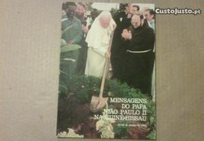 Mensagens do Papa João Paulo II na Guiné-Bissau