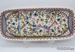 Travessa Cerâmica Coimbra Hand Pinted 30 cm