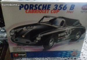 Kit Burago Porsche 356 cabriolet cup escala 1/24