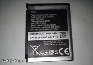 Para vários modelos Samsung Bateria Ab603443cu
