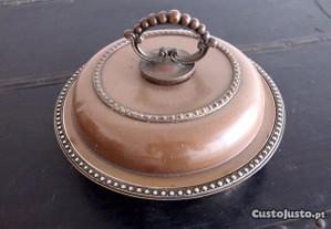 Prato coberto antigo em cobre