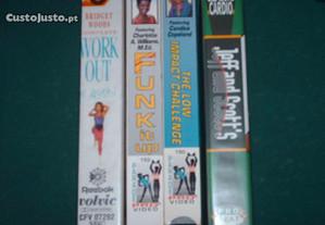 Cassetes VHS desporto vintage