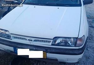 Para peças Nissan Sunny N14 1.4I ano 93