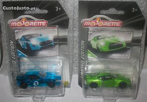 Jaguar F-Type e Nissan GT-R (Majorette)