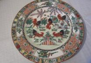 Prato fabricado em Macau, antigo