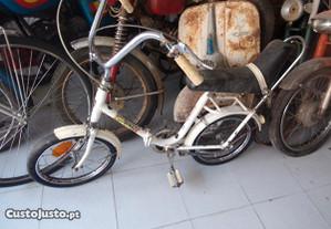bicicleta dobravel marca orbita roda 16 antiga