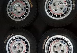 Jantes 13 Ford OZ com pneus Michelin