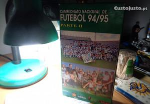Cassete VHS Futebol 94/95 Campeonato Nacional P.II