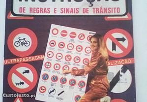 Exercícios Instrução Regras Sinais Trânsito
