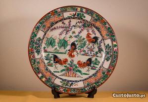 Prato decorativo (porcelana chinesa)