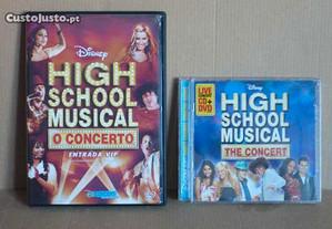 DVD e CD da série
