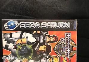 Sega Saturn-Virtua Cop 2