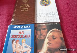 4 Livros 4 Autores Diferentes-Leitura para férias