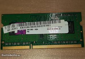 Ram portátil DDR2 PC2-5300 1GB (667 Mhz)