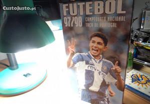 Cassete VHS Futebol 97/98 Campeonato Nacional