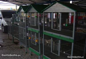 viveiro jaula para passaros galinhas coelhos