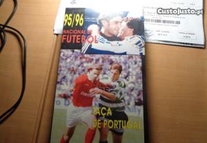 Cassete VHS Futebol 95/96 Campeonato Nacional