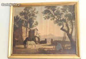 Reprodução Pintura Simon Pcharfer Séc XVIII e XIX