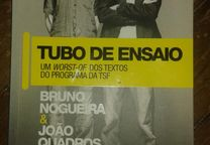 Tubo de ensaio, Bruno Nogueira e João Quadros.