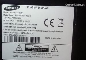 placas de samsung plasma
