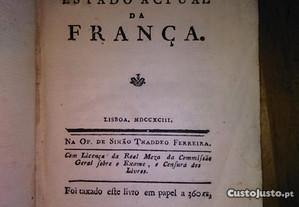 Revolução e Estado Actual da França. Lisboa 1793