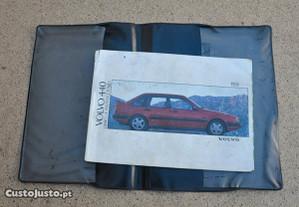 Manual instruções Volvo 440