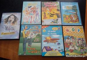 Conjunto dvd infantis