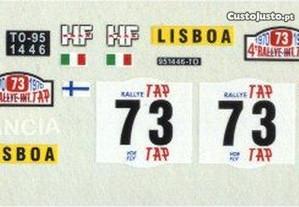 Decalque-Lancia Fulvia - Vencedor Rally Portugal70