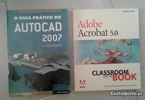 Obras de Hugo Ferramacho e Adobe Acrobat 5.0.