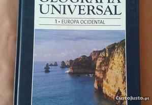 Livro Geografia Universal / Europa Ocidental+OF.fi
