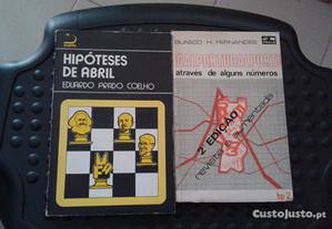 Obras de Eduardo Prado Coelho e Blasco H.Fernandes