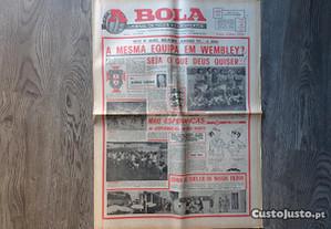 Antigo Jornal A Bola - Novembro 1974