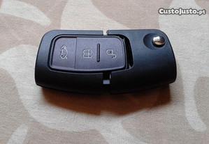 Carcaça capa comando chave retratil Ford
