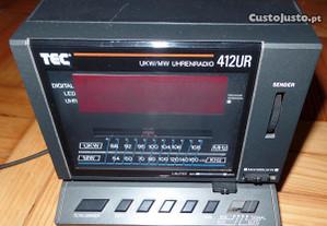 Rádio Relógio Despertador Tec