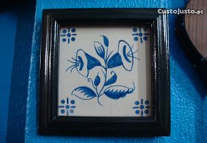 azulejo pintado á mão