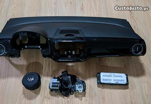 Conjunto Kit Airbag Volkswagen VW Up Tablier