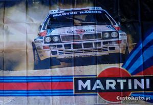 Bandeira Lancia Delta HF Turbo Rally