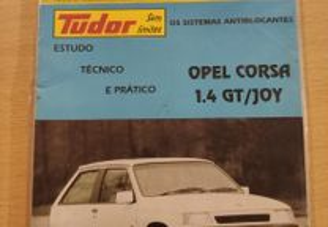Opel Corsa A GT Joy - Manual Técnico RTA