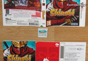 Nintendo 3DS: Shinobi