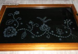 tabuleiro bordado