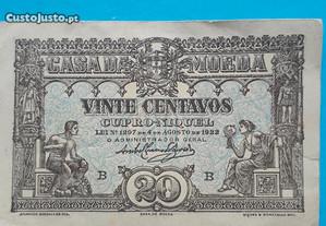 Nota-cédula 20 centavos 1922