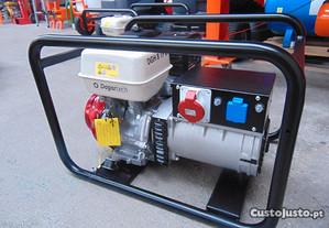 Gerador de 8 kw com motor Honda, Monofasico e Trif