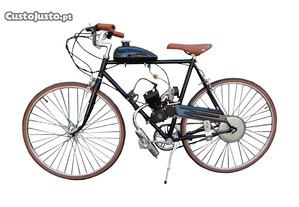Bicicleta de Estrada c/ Motor Novo 80cc