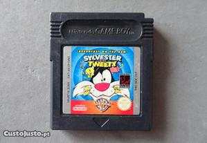 Jogo Game Boy Sylvester and Tweety
